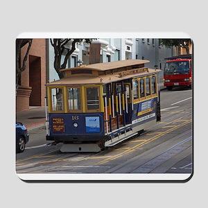 san fran trolley Mousepad