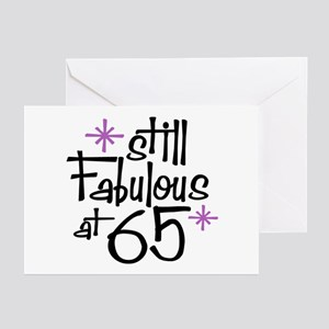 Still Fabulous at 65 Greeting Cards (Pk of 10)