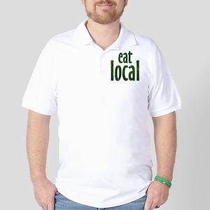 Eat Local - Golf Shirt