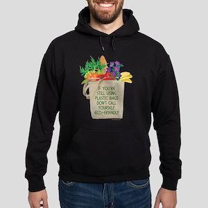 Use Eco-friendly Tote Bags Hoodie (dark)