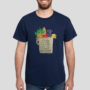 Use Eco-friendly Tote Bags Dark T-Shirt