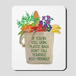 Use Eco-friendly Tote Bags Mousepad