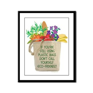 Use Eco-friendly Tote Bags Framed Panel Print