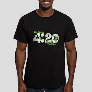 It's Always 4:20 wdz v9.7 Men's Fitted T-Shirt (da