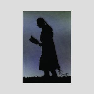 Evening Prayer - Rectangle Magnet