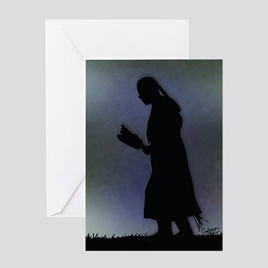 Evening Prayer - Greeting Card