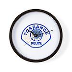 Torrance Police Wall Clock