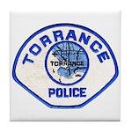 Torrance Police Tile Coaster