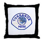 Torrance Police Throw Pillow