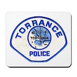 Torrance Police Mousepad