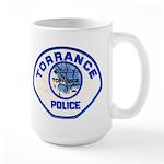 Torrance Police Large Mug