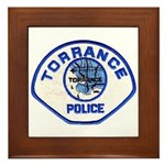 Torrance Police Framed Tile