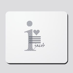 i heart Jacob Mousepad