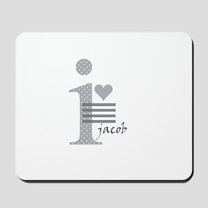 i heart Jacob Mousepad
