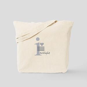 i heart twilight Tote Bag