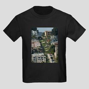 streets of san Francisco Kids Dark T-Shirt