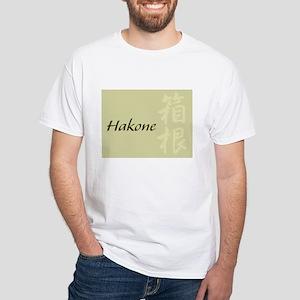 Hakone Logo White T-Shirt