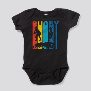 Vintage Rugby Graphic T Shirt Body Suit