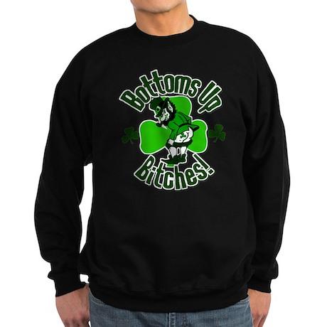 Bottoms Up Bitches! Sweatshirt (dark)