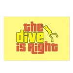 The Dive Is Right Postcards (Package of 8)