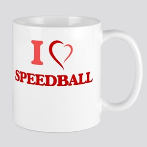 I Love Speedball Mugs