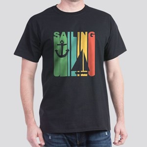 Vintage Sailing Graphic T Shirt T-Shirt