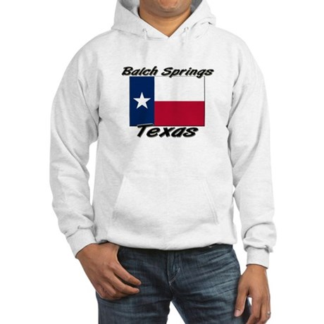 Balch Springs Texas Hooded Sweatshirt