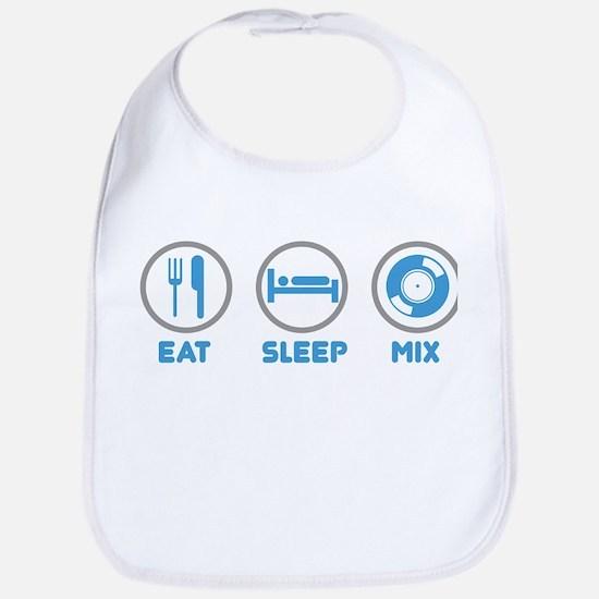 Eat Sleep Mix Again Bib