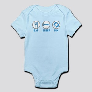 Eat Sleep Mix Again Infant Bodysuit