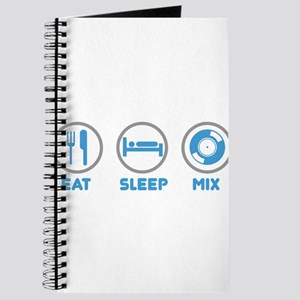 Eat Sleep Mix Again Journal