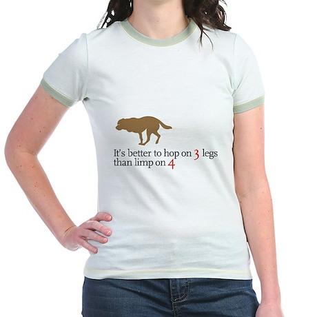 Better to hop . . . Jr. Ringer T-Shirt