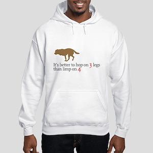 Better to hop . . . Hooded Sweatshirt