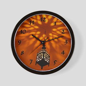 Moroccan Nights Wall Clock