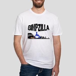 Gimpzilla Fitted T-Shirt