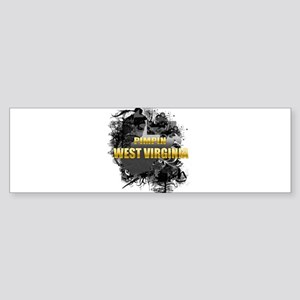 Pimpin' West Virginia Bumper Sticker (10 pk)