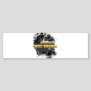 Pimpin' West Virginia Bumper Sticker (10 pk)