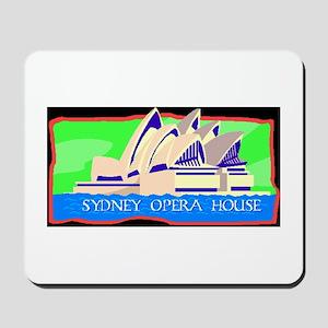 sidney opera house Mousepad