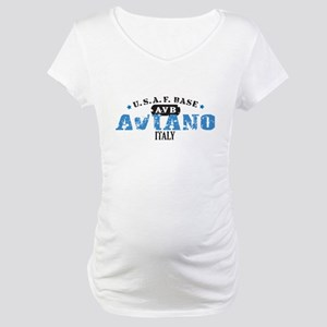 Aviano Air Force Base Maternity T-Shirt