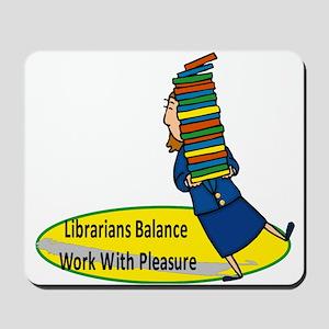 Librarian 2 Mousepad