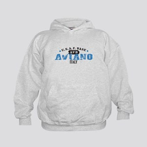 Aviano Air Force Base Kids Hoodie