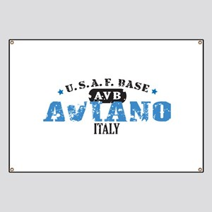 Aviano Air Force Base Banner