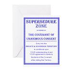 Supersedure Zone-5 Greeting Cards (Pk of 20)