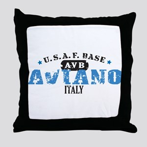 Aviano Air Force Base Throw Pillow