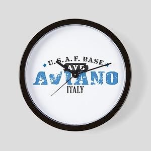 Aviano Air Force Base Wall Clock