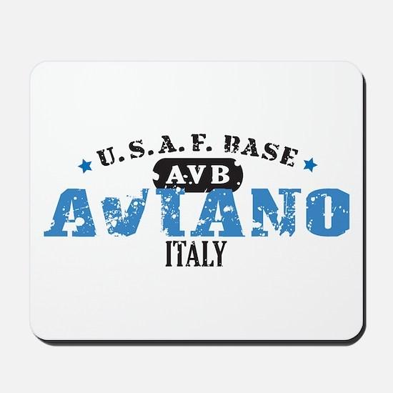 Aviano Air Force Base Mousepad