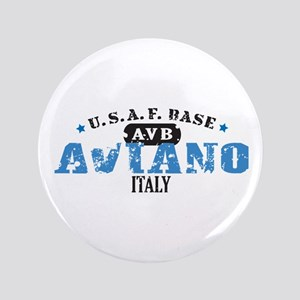 """Aviano Air Force Base 3.5"""" Button"""