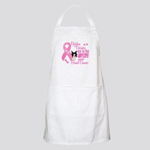 Boston Terriers Against Breast Cancer 2 BBQ Apron