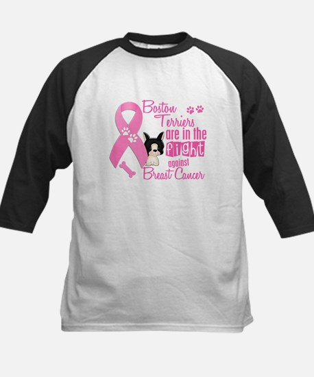 Boston Terriers Against Breast Cancer 2 Tee