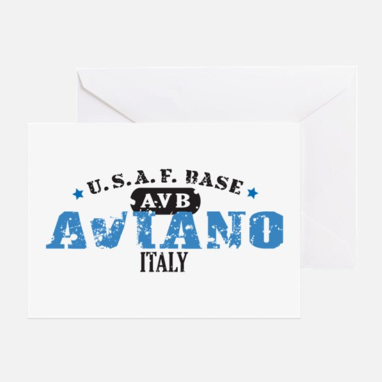 Aviano Air Force Base Greeting Card