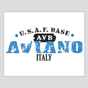 Aviano Air Force Base Small Poster